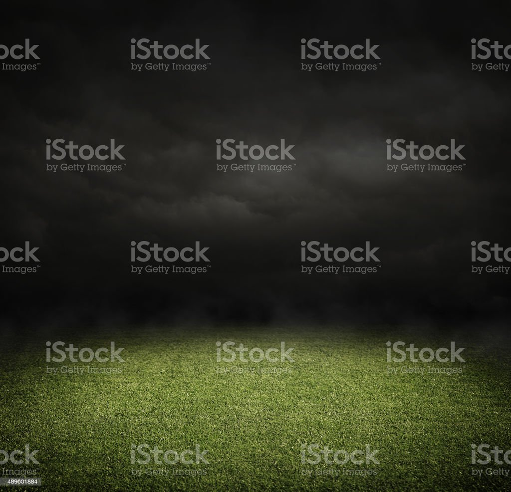 Terrain de Football américain photo libre de droits