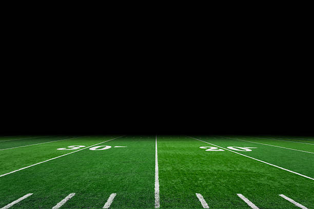 Top 60 Football Field Stock Photos, Pictures, And Images