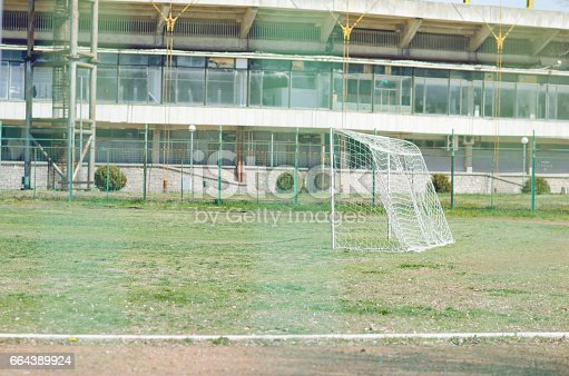 931661614 istock photo Football Field 664389924