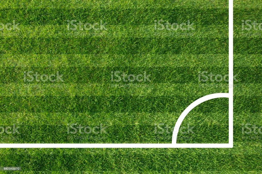 Football field zbiór zdjęć royalty-free