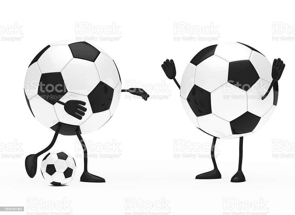 football figure royalty-free stock photo