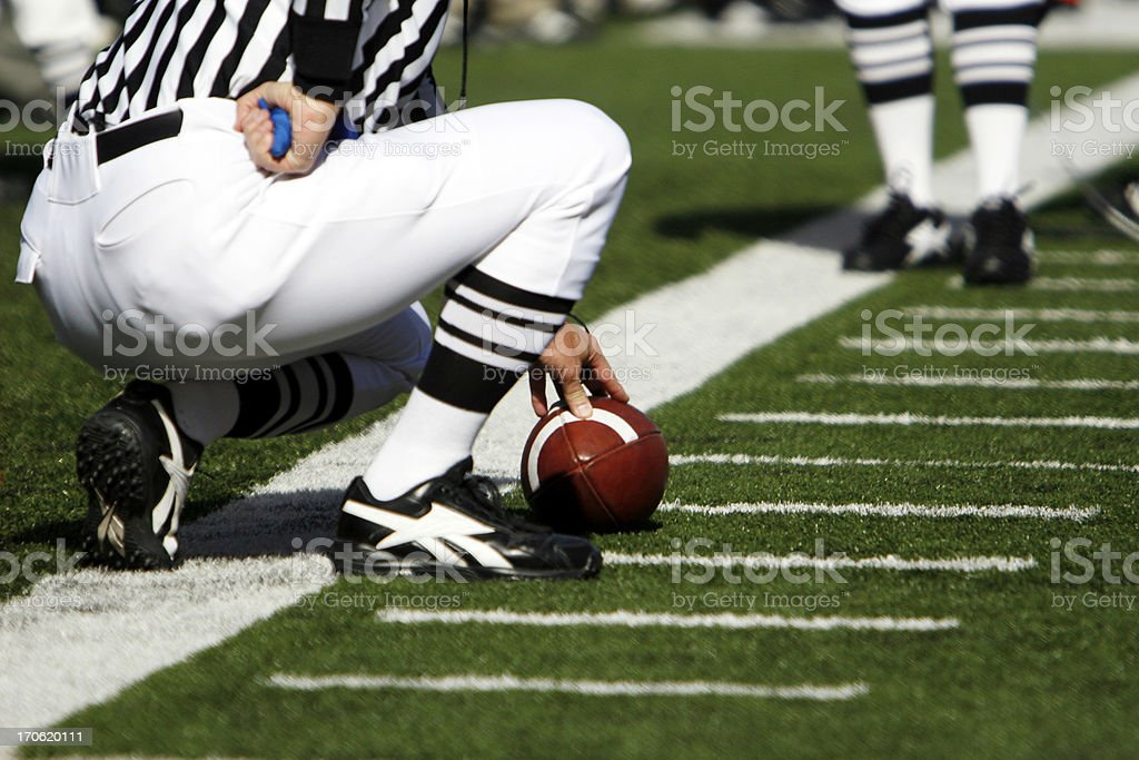 Football First Down stock photo