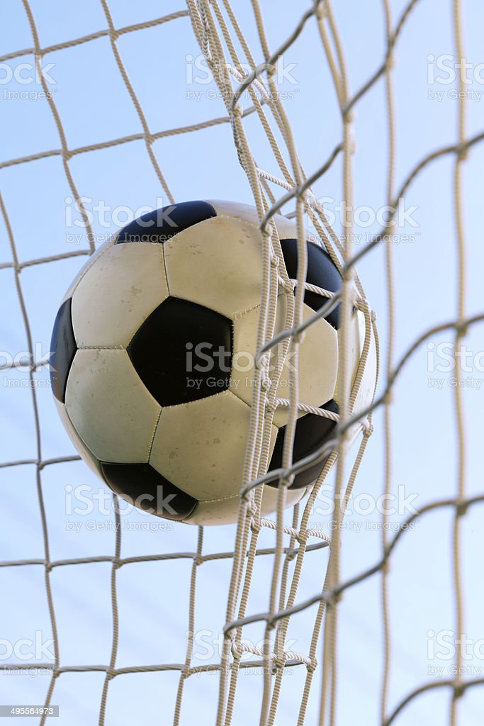 Football Goal A1 royalty-free stock photo