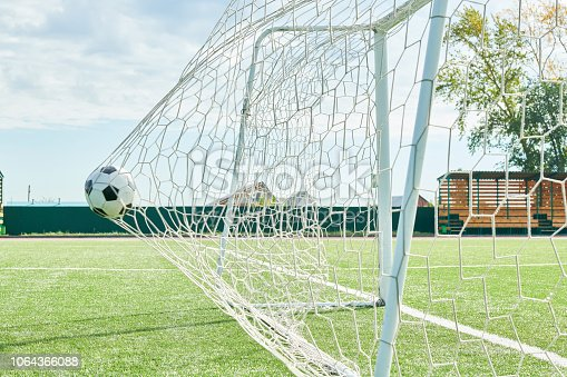 931661614 istock photo Football Goal 1064366088