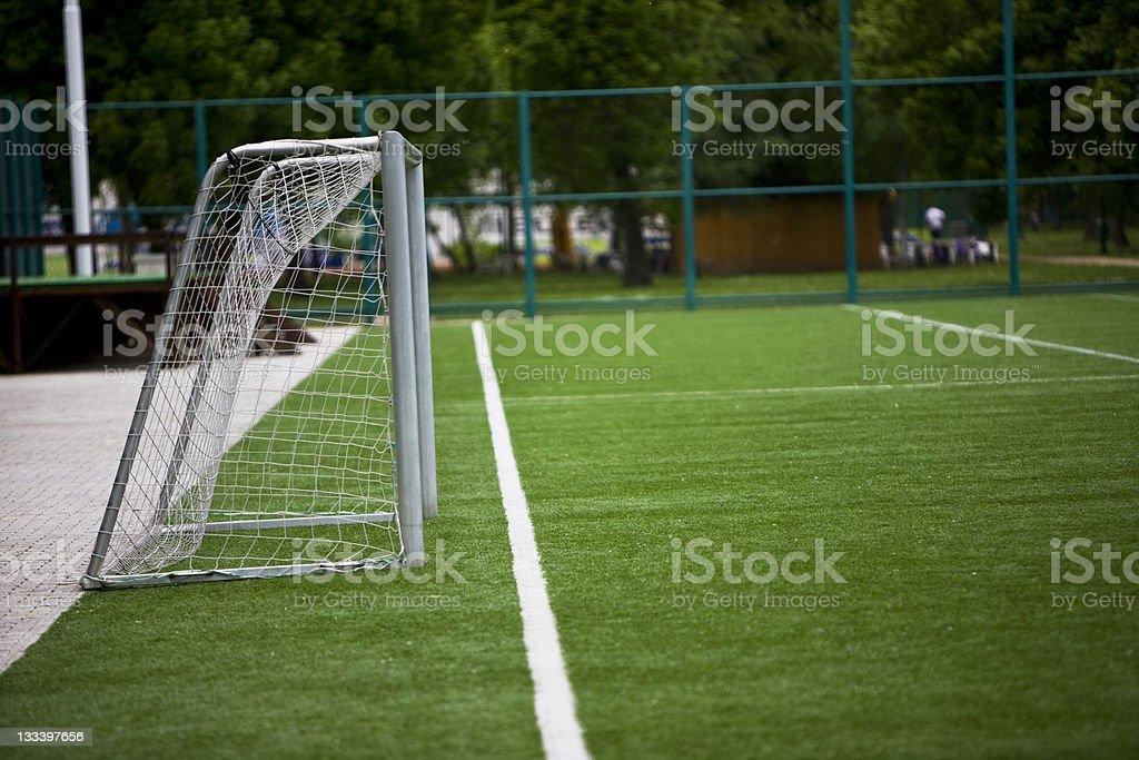 Football Goal royalty-free stock photo