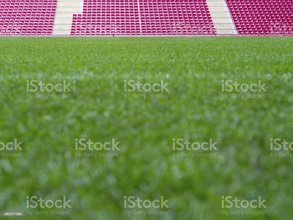 Football, Grass, Stadium royalty-free stock photo