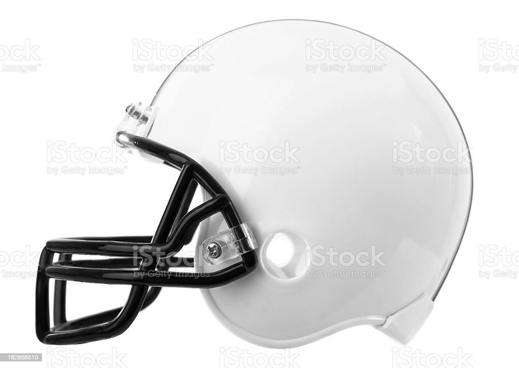 Football Helmet royalty-free stock photo