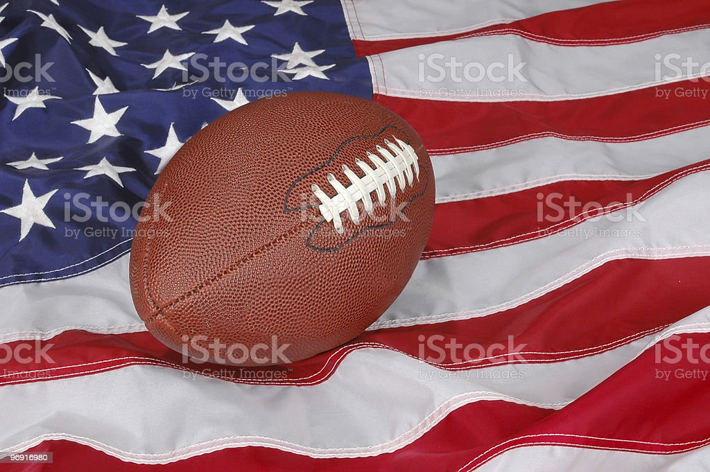 Football in America royalty-free stock photo