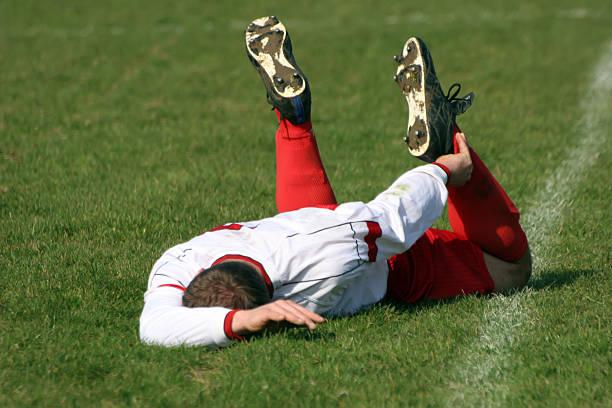 lesioni di football - china drug foto e immagini stock