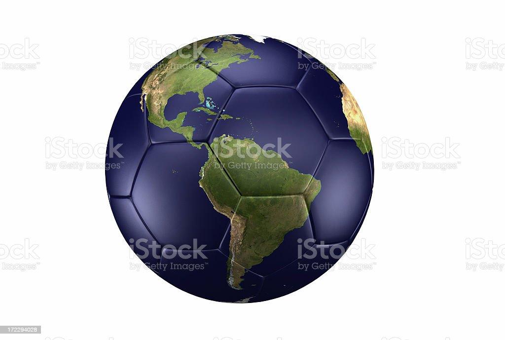 Es mundo de fútbol - foto de stock