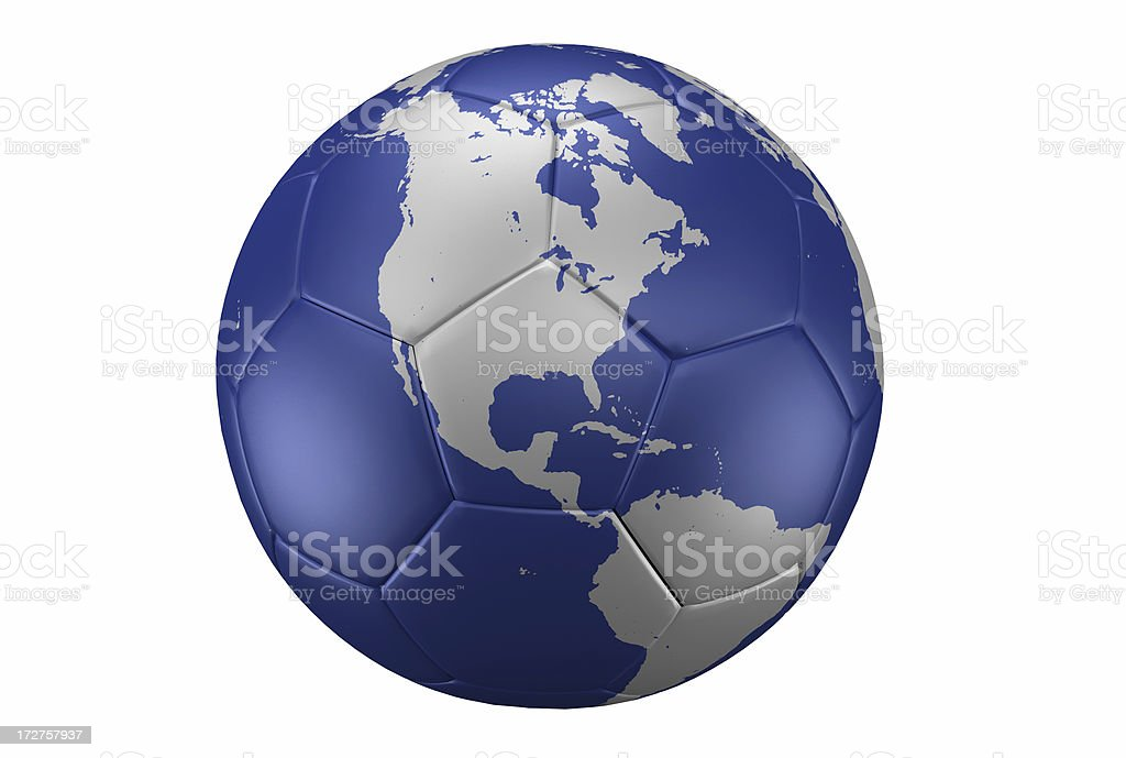 Football is World royalty-free stock photo