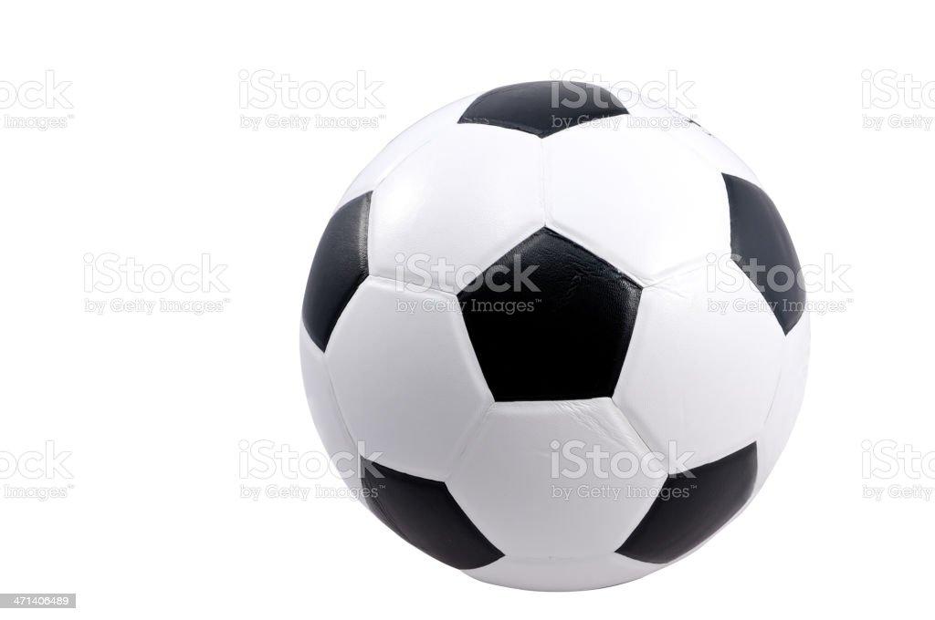 football isolated royalty-free stock photo
