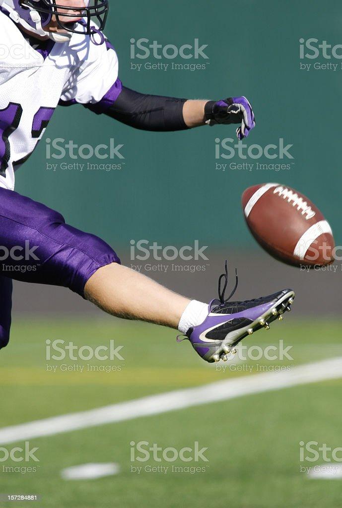 Football Kick stock photo