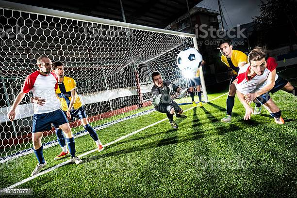 Football match in stadium header goal picture id462576771?b=1&k=6&m=462576771&s=612x612&h=swgb hwsdz6jwkmyhqqpy0 y4f8c33qazmnyu67l2ik=