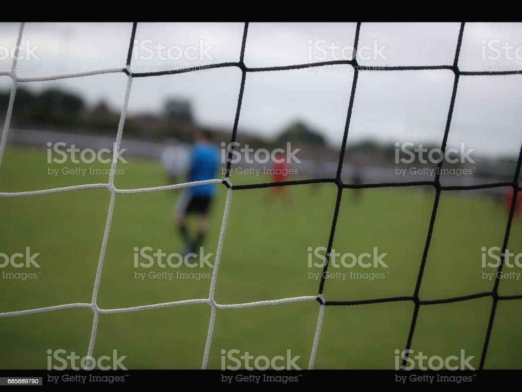 フットボールの純 ロイヤリティフリーストックフォト