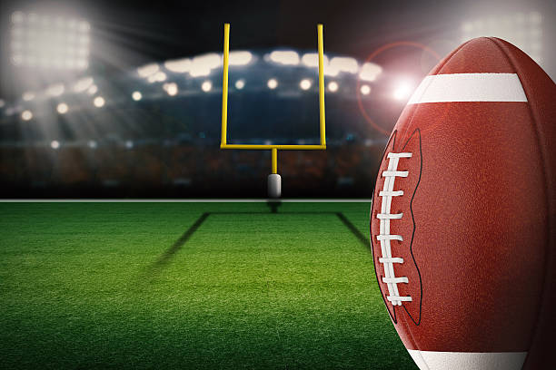 Best Football Goal Post Stock Photos, Pictures & Royalty