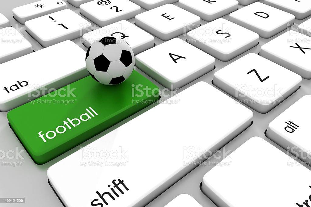 Football Online Stock Photo Istock