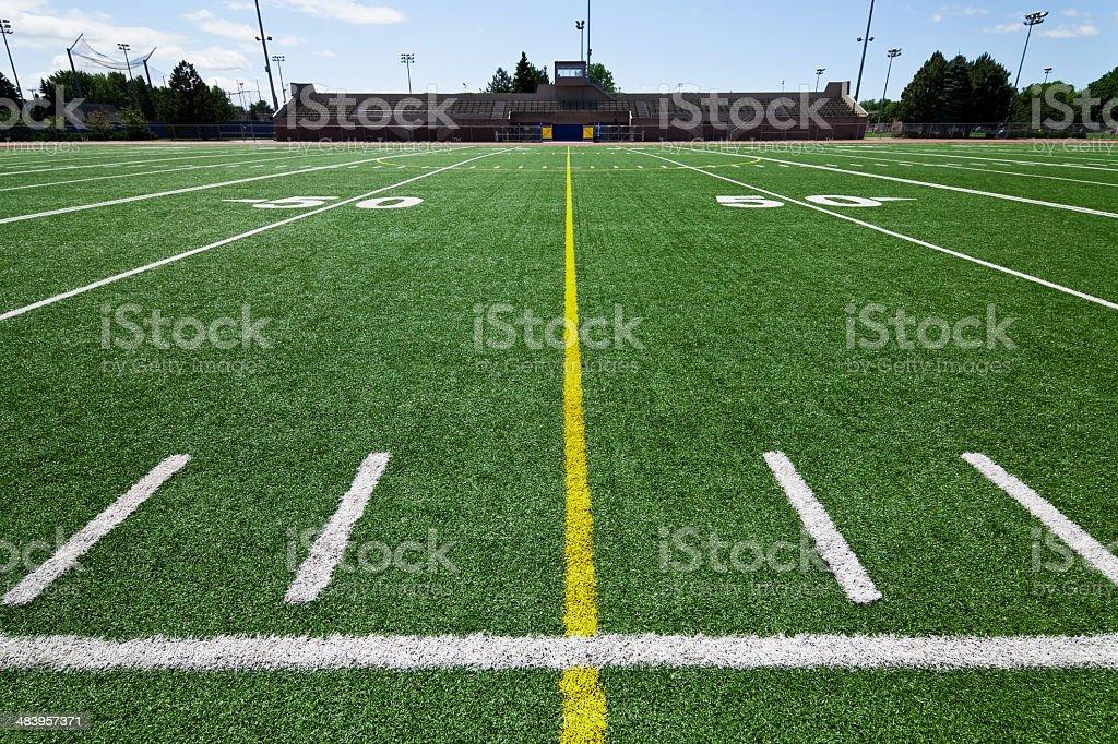 Football Outdoor Stadium royalty-free stock photo