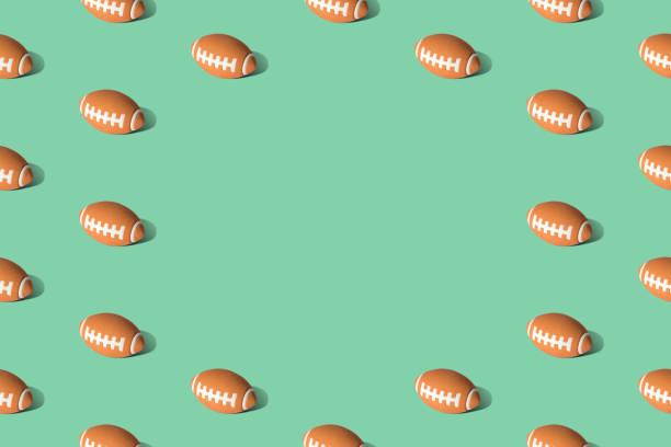 Textura del patrón de fútbol en el pasto abstracto. - foto de stock