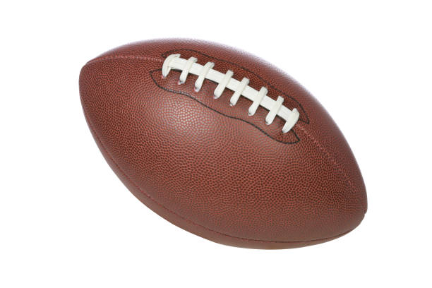 Football (CLIPPING PATH) stock photo