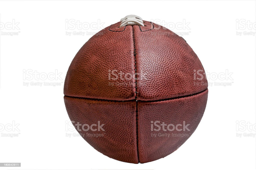 NFL Football royalty-free stock photo