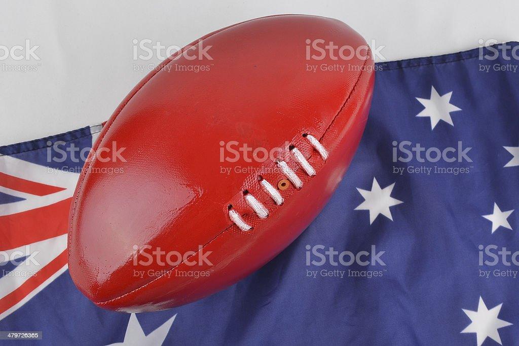 AFL Football stock photo