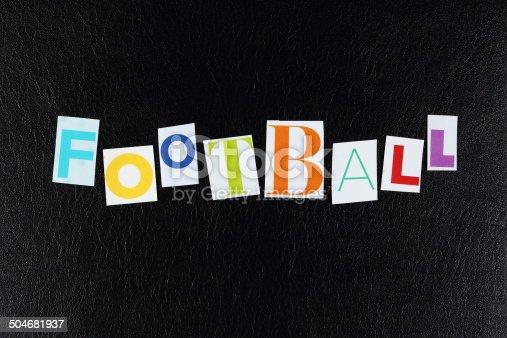 812461124 istock photo Football 504681937