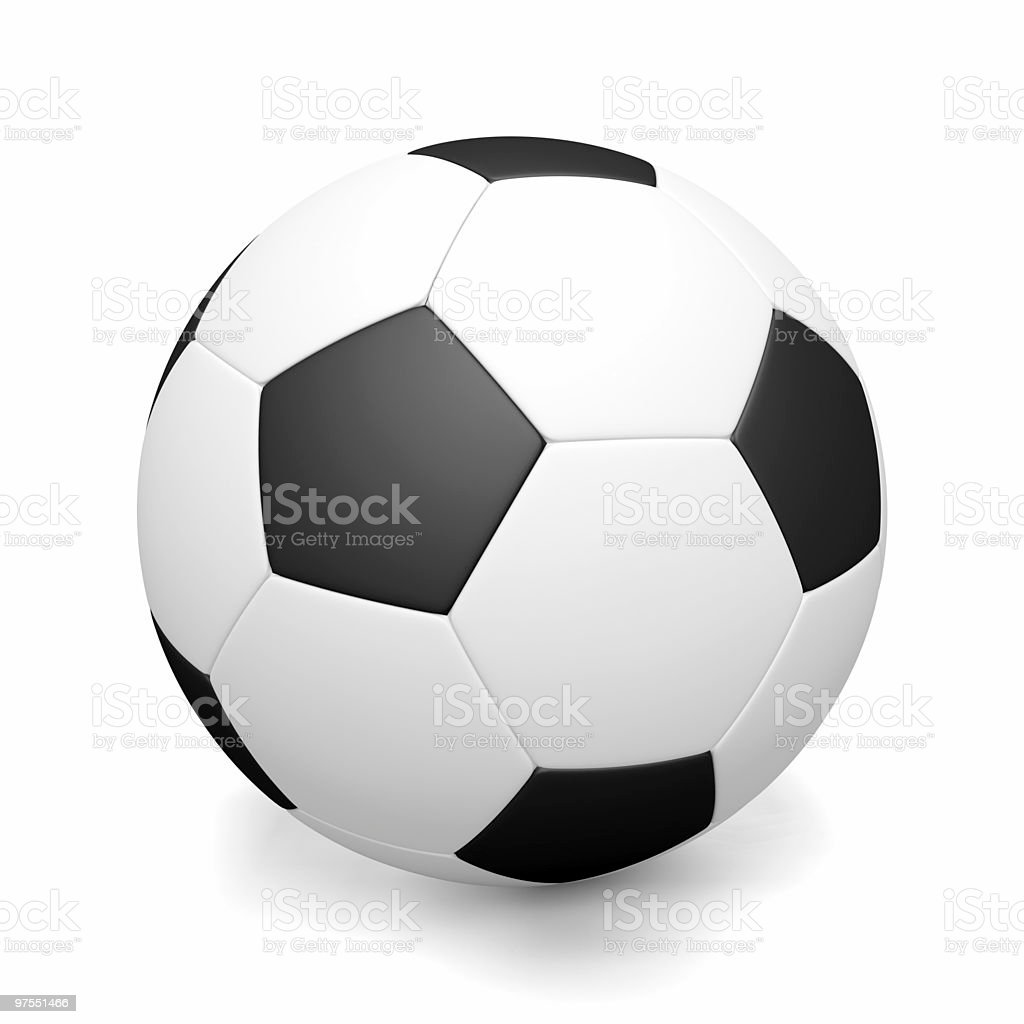 Joueur de Football photo libre de droits