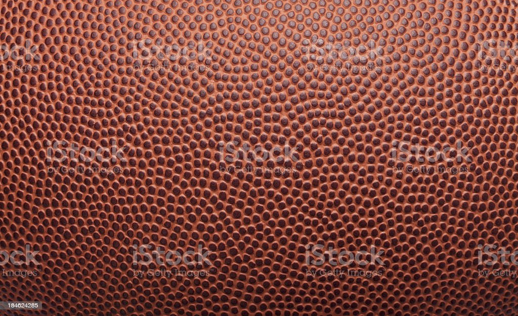 Football Pigskin Background Texture stock photo