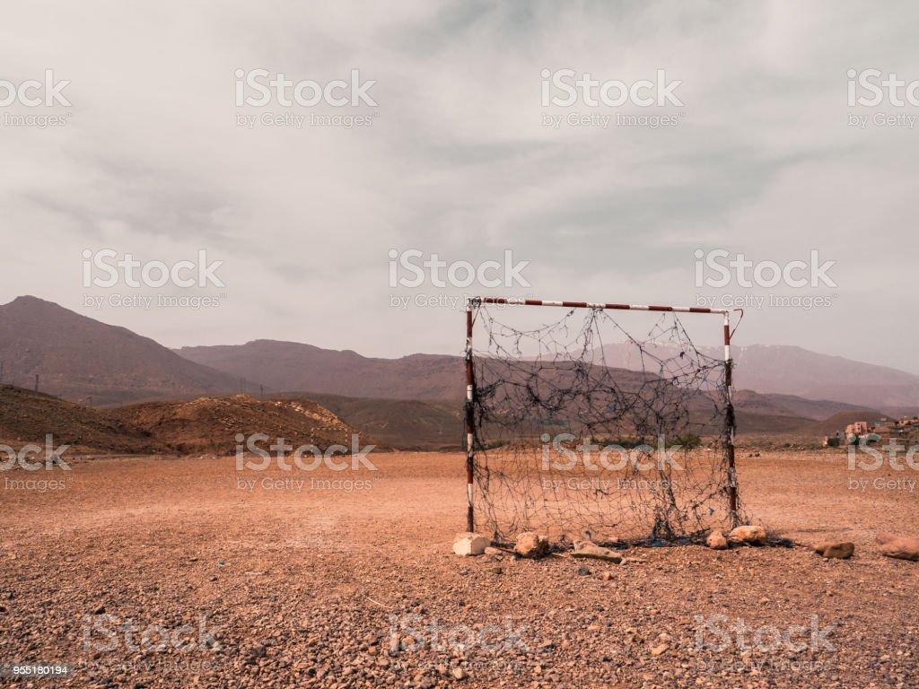 Fußballplatz in Marokko – Foto