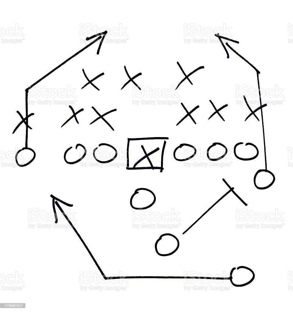Football play stock photo more pictures of american football football play royalty free stock photo pooptronica Images