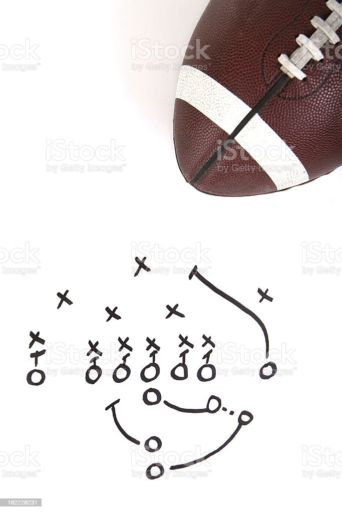 Football Play stock photo