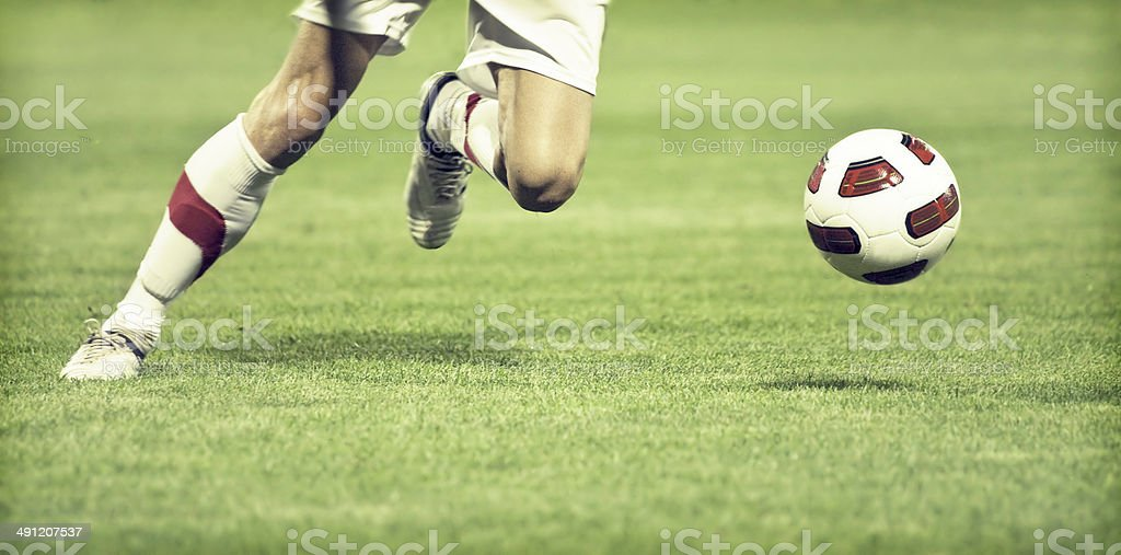 Football-Spieler – Foto