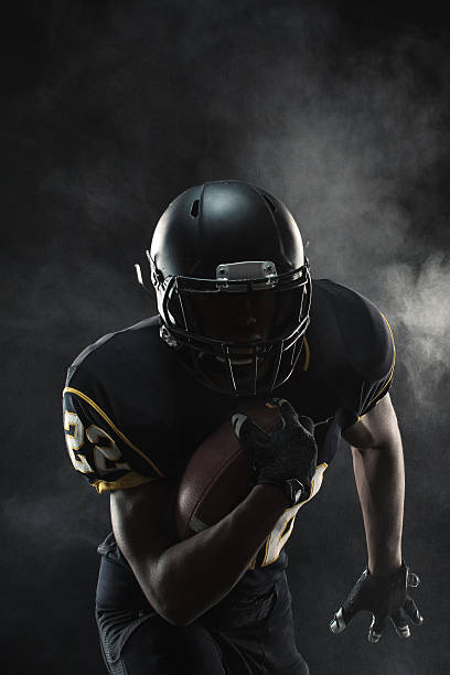 football player - american football player stock photos and pictures
