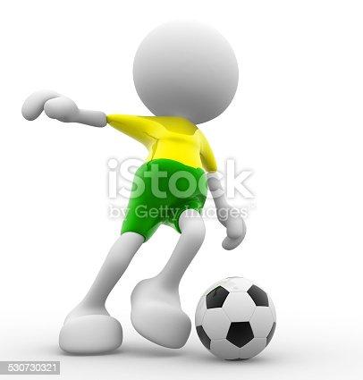 667381184 istock photo Football player 530730321