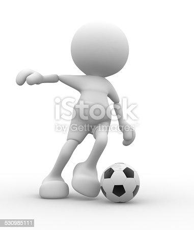 667381184 istock photo Football player 530985111