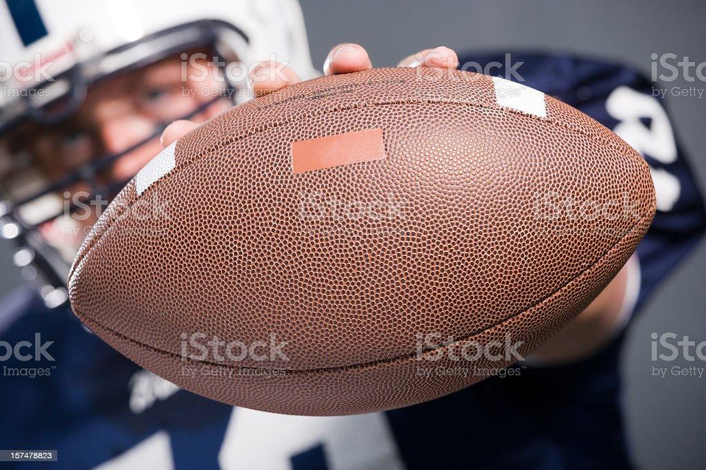 football player series royalty-free stock photo