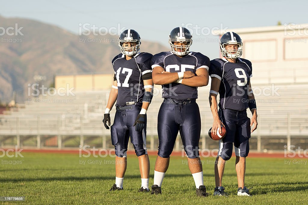 Football Players stock photo
