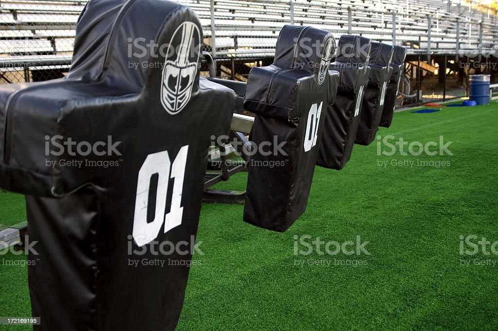 Football Practice royalty-free stock photo