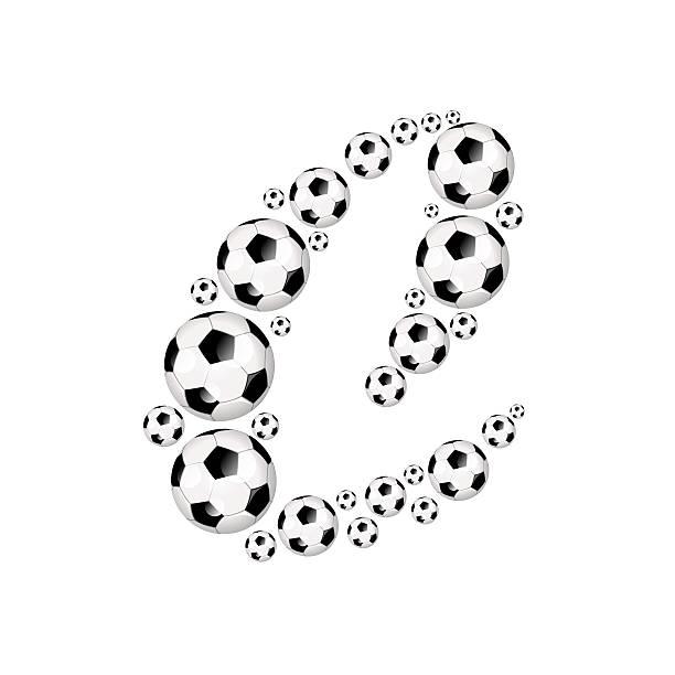 futebol, futebol alfabeto letra c - ronaldo imagens e fotografias de stock