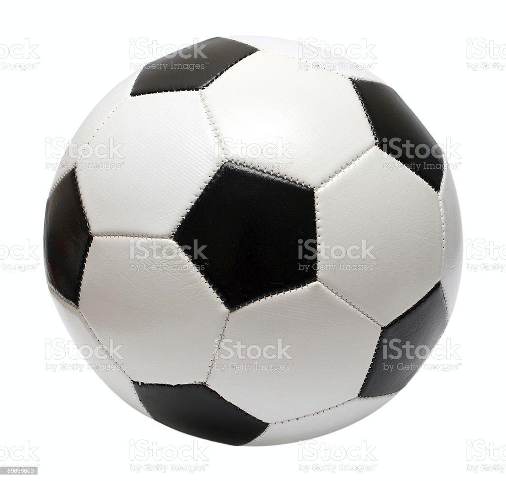 football soccer ball royalty-free stock photo