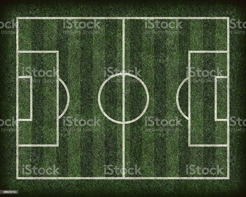 Football / Soccer Field royalty-free stock photo