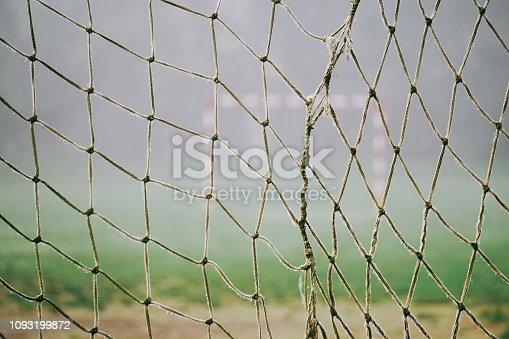 football soccer sport in the street, bilbao, spain,