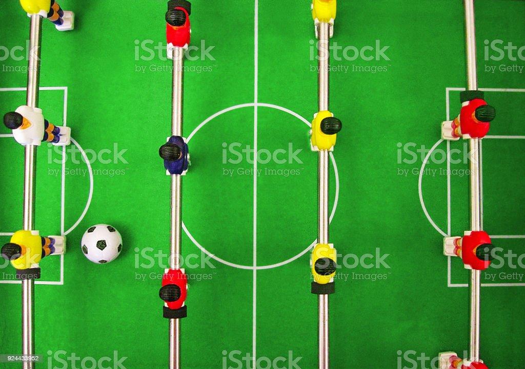 Fotografia De Juego De Mesa De Futbol Futbol Juego De Construccion