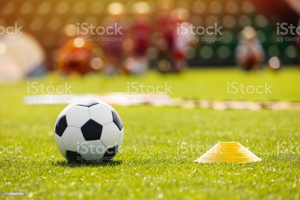 Fussball Fussball Training Equpment Auf Ubungsbeispiel Fussball