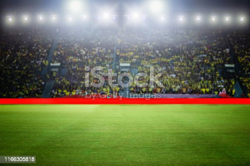 istock football stadium and arena soccer field championship win for background 1166305818