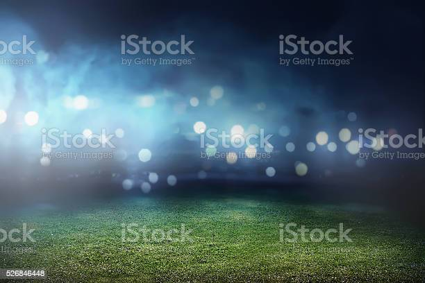 Photo of Football stadium background