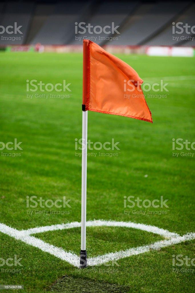 Football stadium stock photo