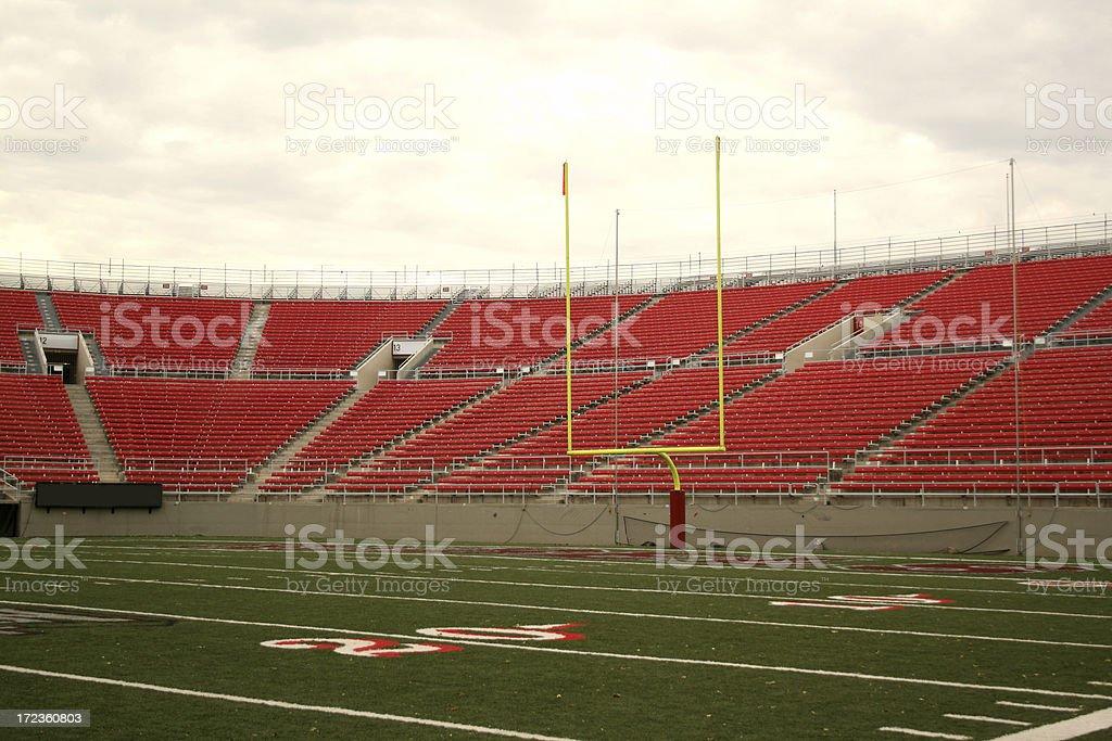 Football Stadium Series stock photo