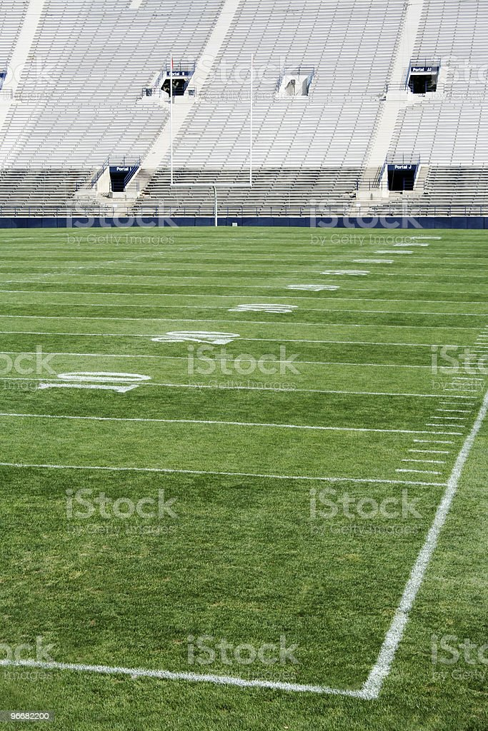 Football Stadium vertical royalty-free stock photo
